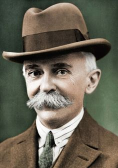 Pierre de Frédy, Baron de Coubertin was a French educator and historian, and founder of the International Olympic Committee. He is considered the father of the modern Olympic Games. Born into a French aristocratic family, he became an academic and studied a broad range of topics, most notably education and history.