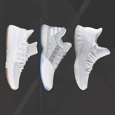 Dominate the court with super clean kicks from adidas, including the latest Dame 3 colorway. All available now.