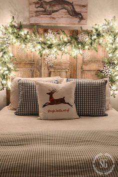 Scandi Bedroom Decor - Christmas Decor Ideas