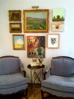 How to perfectly hang a gallery wall
