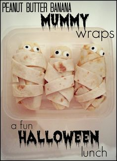 When Jasper is just a little older and doesn't have to have everything cut up...Maybe by next Halloween, these would be perfect snacks!