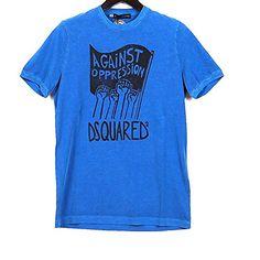 (ディースクエアード) DSQUARED2 S74GC0758 S20694 083 プリント Tシャツ 半袖 ブルー (並行輸入品) RICHJUNE (M) DSQUARED2(ディースクエアード) http://www.amazon.co.jp/dp/B011Z279DC/ref=cm_sw_r_pi_dp_YnS3vb0N79KH4
