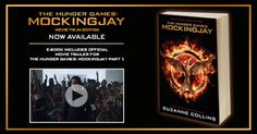 The #MOCKINGJAY Movie Tie-In Edition is now on sale! You can also get a copy of the e-book that includes the official movie trailer for The Hunger Games: Mockingjay Part 1; in theaters November 21st! #HungerGames #TheHungerGames #Katniss #KatnissEverdeen #book #books #series #trilogy #quote #quotes #readcatchingfire #repin #read #reading #quotation #character #characters #victors #tributes #tribute #victor #districts #panem #Mockingjay #District12 #thearena #TheCapitol