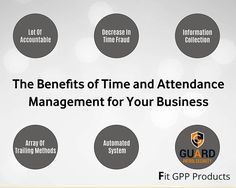 Benefits of Time & Attendance Management for Your Business  #GuardPatrolProducts #Attendancemanagement #timemanagement