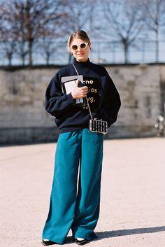 Vanessa Jackman: Paris Fashion Week AW 2015....Claire