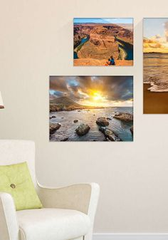 Add style and sophistication to any room with an acrylic photo print, which is published using high-definition printing technology for a perfectly vibrant finish, and has just enough depth to stand out from the wall.