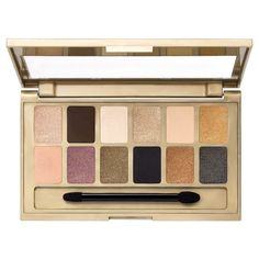 Maybelline The24KT Nudes Eye Shadow Palette 120 0.34 oz, Gold