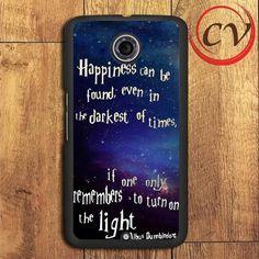 Harry Potter Qoutes Nexus 5,Nexus 6,Nexus 7 Case