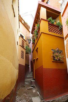Callejón del Beso, Guanajuato, México