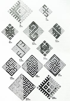 Afghanistan designs (which look close to Latvian