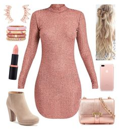 """Me encanta."" by itsbeautyg on Polyvore featuring moda, LC Lauren Conrad, Aspinal of London, Adolfo Courrier, Pink, Beauty, tumblr, dress y outfits"