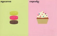 """l'obsession"" Macarons vs Cupcake Paris Vs New York by Vahram Muratyan"