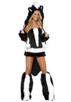 CyberPunk Dance Club Costume OtherKin Skunk Furry