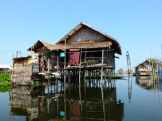House on water, Inle lake