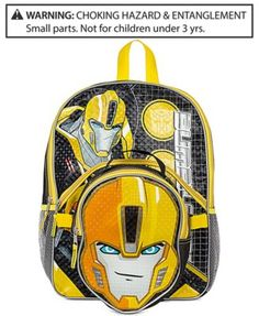41d1a39d339a Transformers Backpack with Lunch Bag