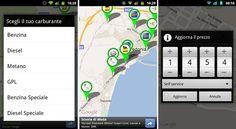 Prezzi Benzina AndroidFuel: controlla il prezzo del carburante dei distributori nelle vicinanze