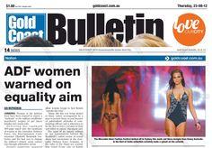 Gold Coast Bulletin - 23 August 2012