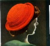 easy to crochet red convertible red hat - free crochet pattern