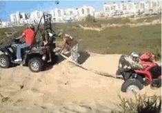 Rescuing an ATV
