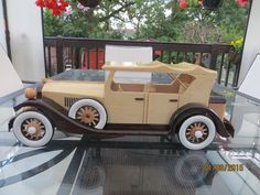 Explore ken_pullen& photos on Photobucket. Wooden Car, Scroll Saw Patterns, Wood Toys, Cool Websites, Cadillac, Retro, Thankful, Gallery, Explore