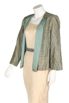 Jacket (image 4) | Mariano Fortuny | 1920-1930 | stenciled cotton | Kerry Taylor Auctions | June 14, 2016