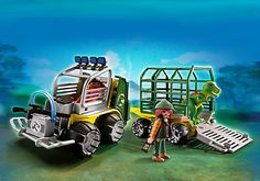 Transport Vehicle with Baby T-Rex - PM USA PLAYMOBIL® USA