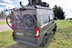 The Van Life phenomenon is all the rage lately, a fascination with conversion vans built to take adventurers into the wild. The all-new Westfalia Offroad Camper is designed specifically for active outdoor enthusiasts, an adventure-ready off-roa Mercedes Sprinter Camper, Sprinter Van, Vw Minibus, Westfalia Van, Caravan Salon, Ambulance, Hors Route, Ski Rack, Fiat Ducato