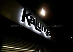 Letreiro Kalunga luminoso com leds para a loja da Kalunga no Rio de Janeiro  - RJ 5b1058ee34