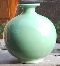 Chinese style porcelain vases