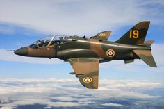 BAe Hawk T1a, 19 Sqdn anniversary scheme, RAF Valley.