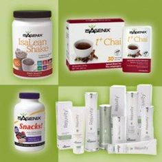 Meet three of our newest products, now available just ask me how, they all are fantastic! brswager.isagenix.com