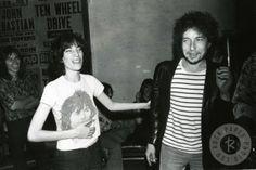 Bob Dylan — 1960sPatti Smith and Bob Dylan by Chuck Pulin, 1976Full serie
