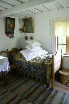 Izba w chacie wiejskiej,piękna !!!