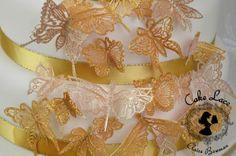 Cake lace Claire Bowman mat - Beautiful Butterflies