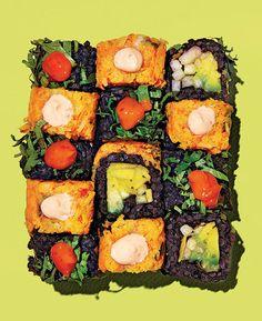 Beyond Sushi's vegan rolls.