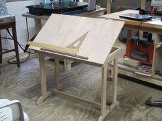 drafting table from lumberjocks