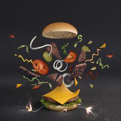 <b>All hail the mighty burger!</b>