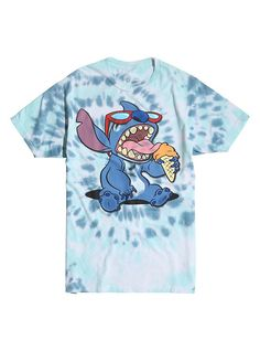 581295883c Disney Lilo   Stitch Ice Cream Tie Dye T-Shirt