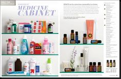 Does your medicine cabinet need an ALL NATURAL makeover? www.essentialoilsfordummys.com