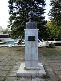 Bustul lui Mihai Eminescu din Piata Independentei, Vaslui...  http://www.tesalut.ro/vaslui/?&mid=1&q=secu  (photo by Nicu Francovschi)