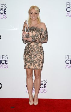 Britney Spears | Fashion At The 2014 People's Choice Awards