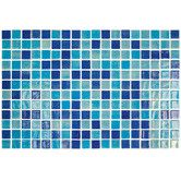 "Found it at Wayfair - Colour Blend 1"" x 1"" Glass Frosted Mosaic in Piscis"