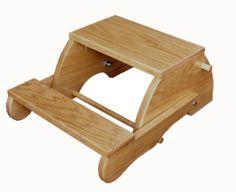 Folding Stool - Child's / Amish Furniture Crafts