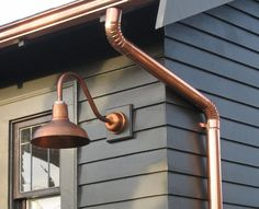 Copper gutters are everything