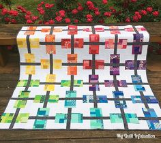 My Quilt Infatuation: Beach Retreat and a Popsicle Party!