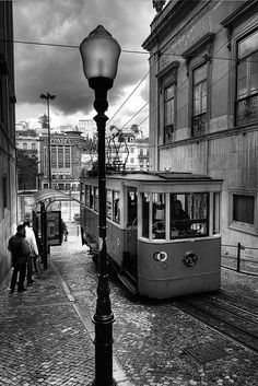 Street Car in ? Prague? http://allthingseurope.tumblr.com/post/1367464596