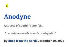 Anodyne Definition   Google Search