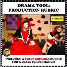 FREE! Here is a drama tool for teachers to use with a class production. It is fully editable and includes what a teacher can expect from students--acting, blocking, cooperative learning, willingness to be directed memorization, etc. Twenty years ago, I directed my first class play. Prior to this... Elementary Teaching, Help Teaching, Teaching Strategies, Teaching Ideas, Classroom Resources, Teacher Resources, Drama Class, High School Classroom, Cooperative Learning