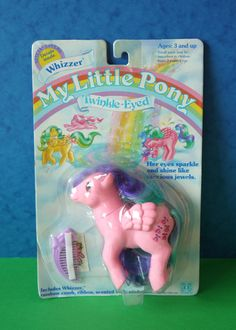 My Little Pony G1 Vintage Twinkle Eyed Whizzer | eBay