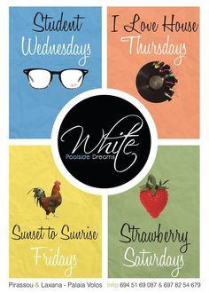 Poster, Event Poster, Design, White, WhiteClub